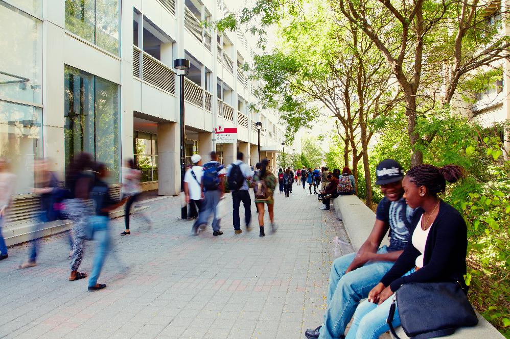 Small Campuswalk