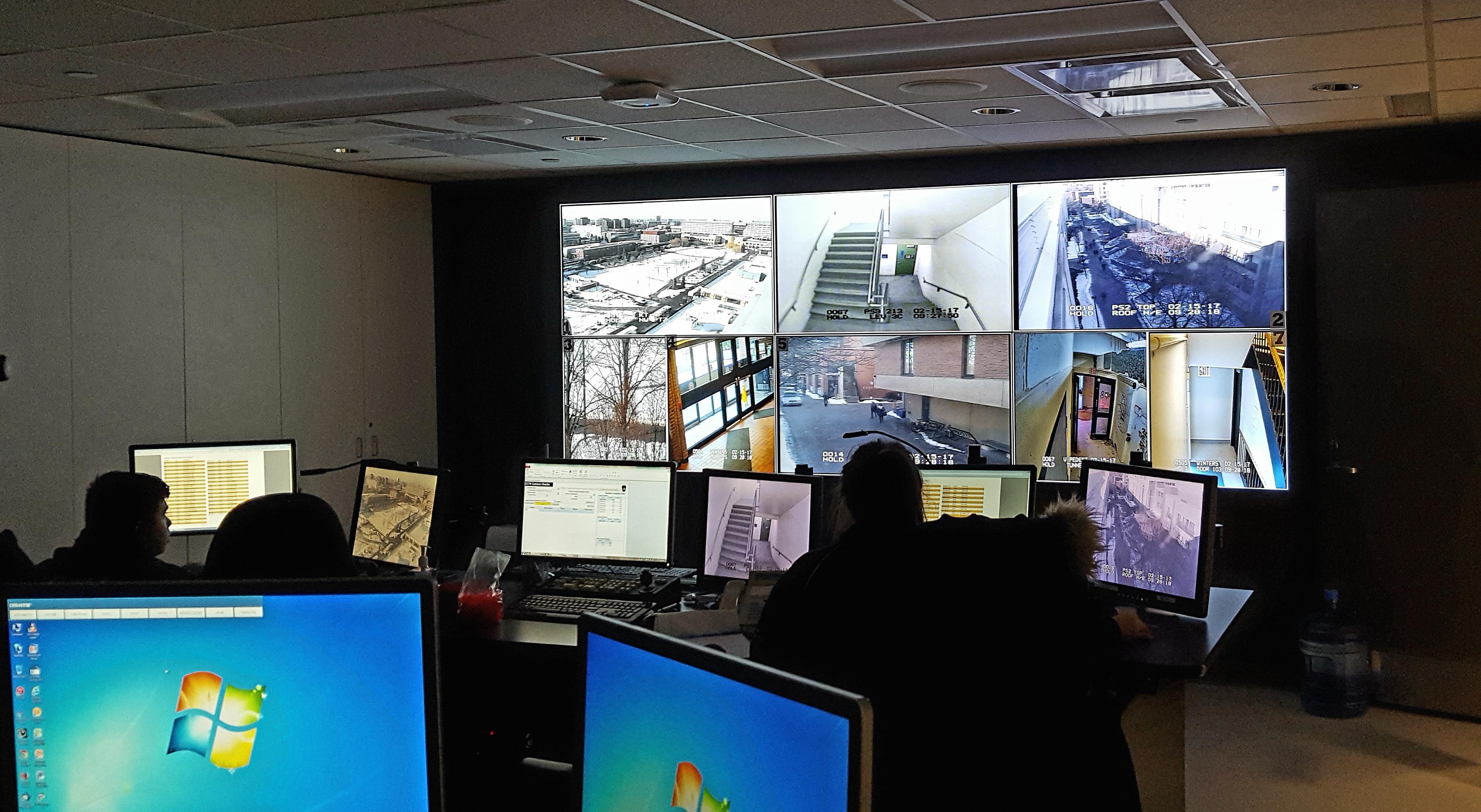 York University Security Control Centre
