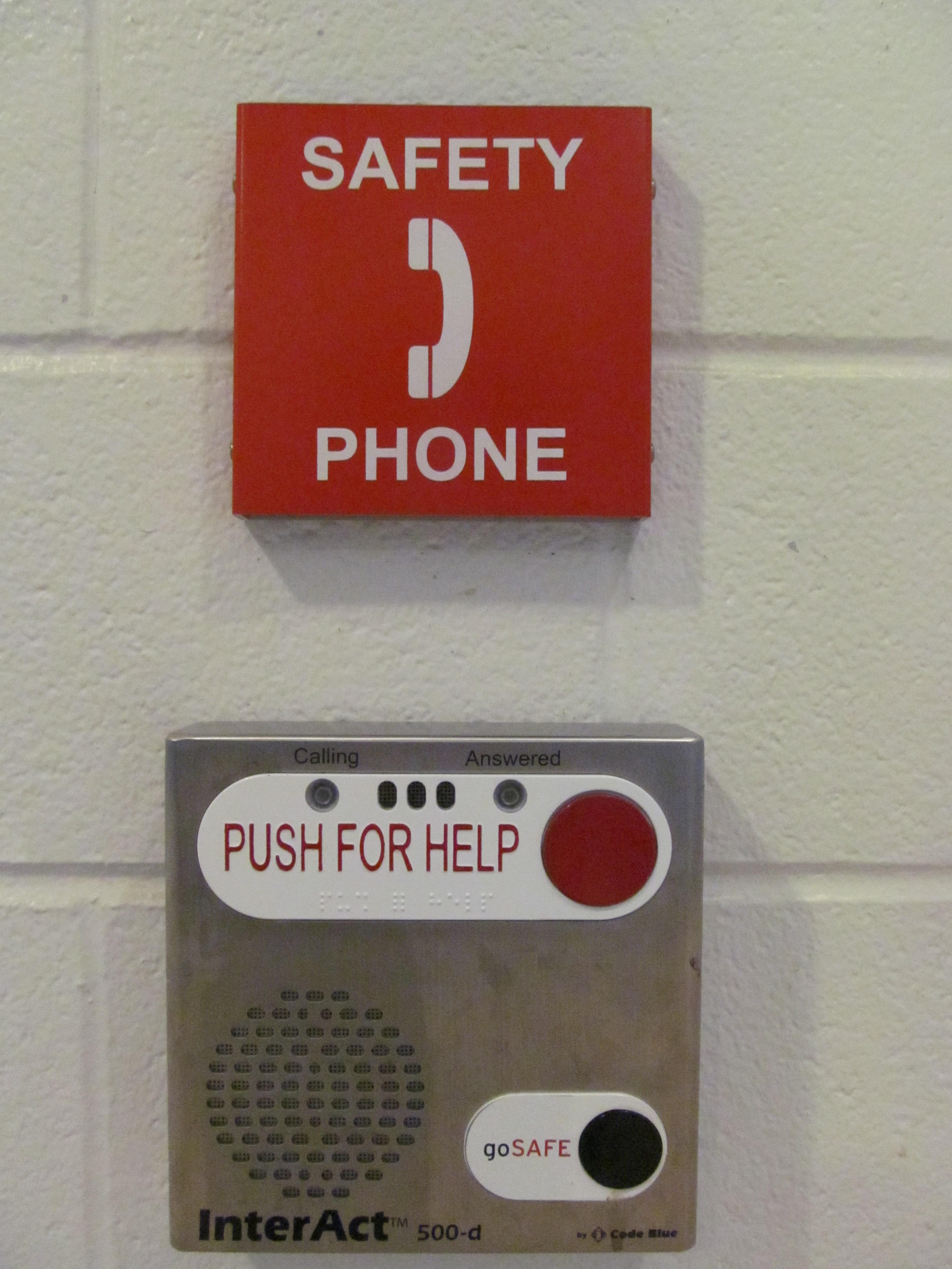 Interior Safety Phones
