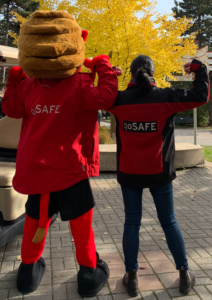 YEO and goSAFE staff member